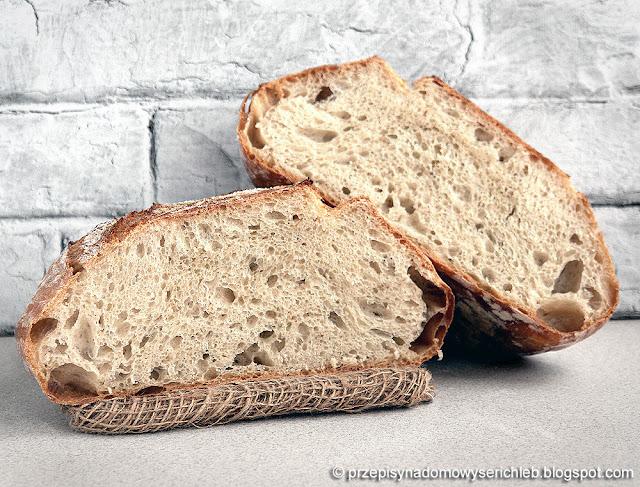 Prosty chleb pszenny na drożdżach wg Kena Forkisha