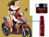 Logo ''Metti in moto il tuo Natale'' e vinci 6 scooter Piaggio Liberty S 125