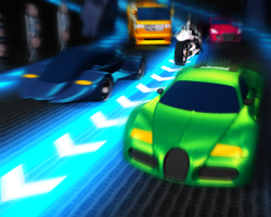 لعبة قيادة سيارات المستقبل اونلاين