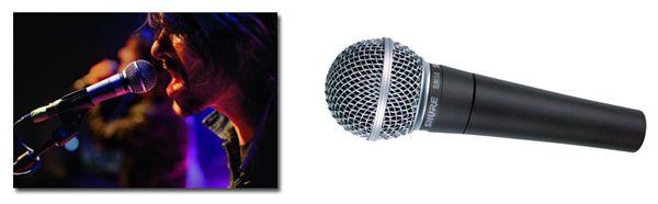 Micrófono Shure SM58 LC para Grabar o Amplificar Voces