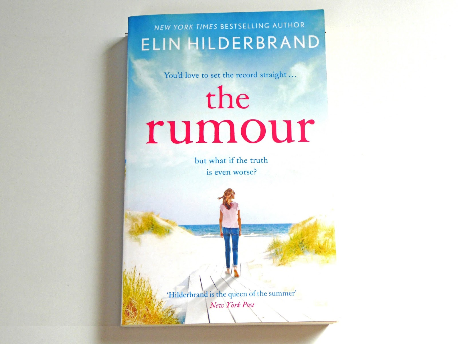 Book Review of The Rumour by Elin Hilderbrand