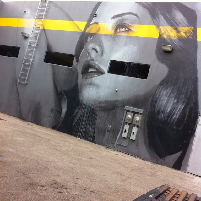 New Street Art Mural By RONE for Art Basel 2013 in Wynwood, Miami. 4