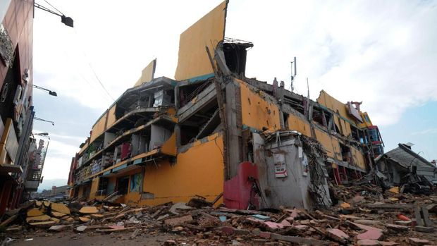 Foto gempa Palu
