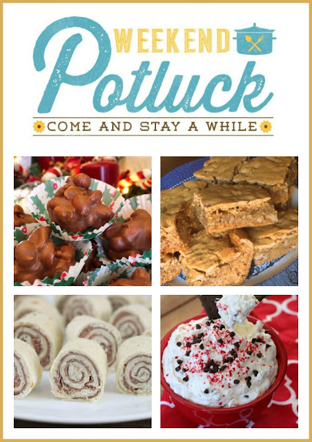 Southern Pecan Chewies - Weekend Potluck 304
