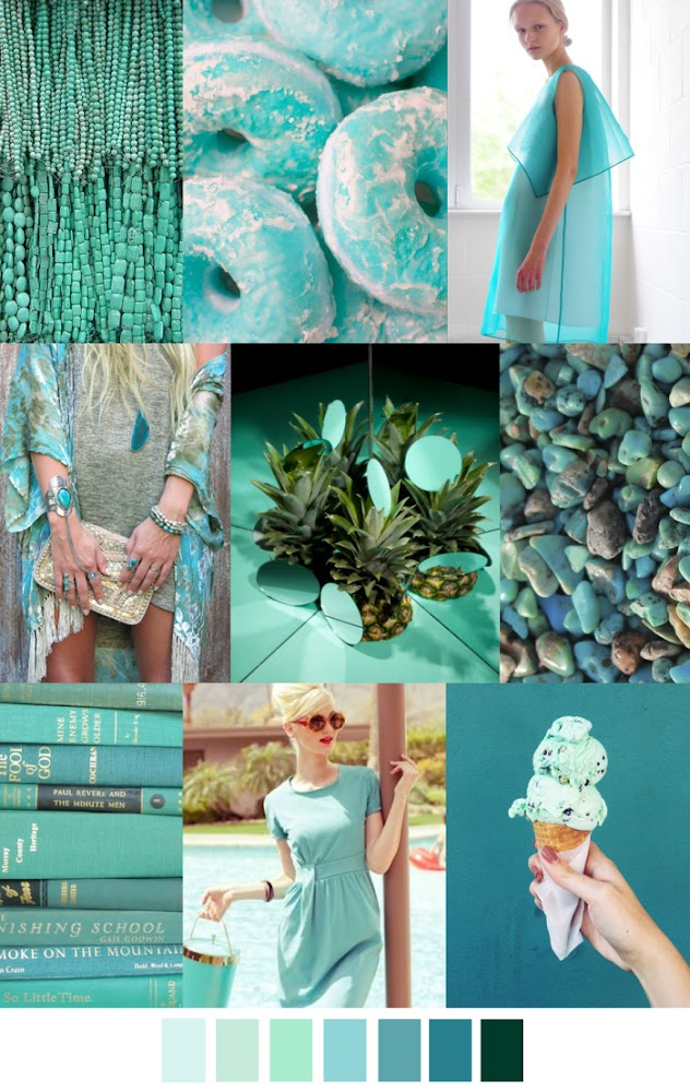 TRENDS // PATTERN CURATOR - COLOR INSPIRATIONS SS 2016