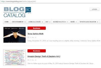 BlogCatalog Page of Jaguar Julie Stolen Blog Posts