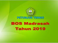 Petunjuk Teknis BOS Madrasah Tahun Anggaran 2019