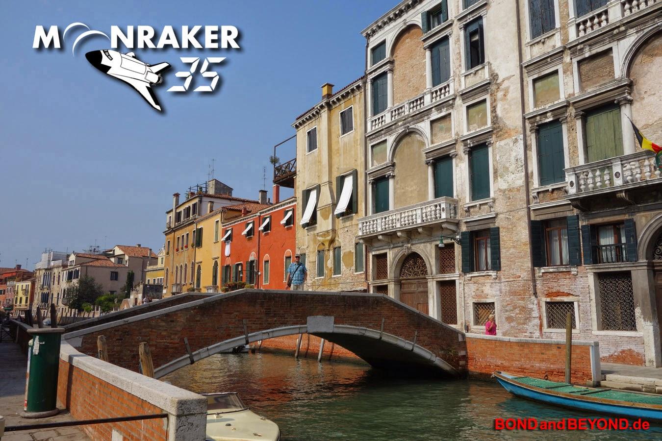 Venice, Ponte Foscatini, Moonraker