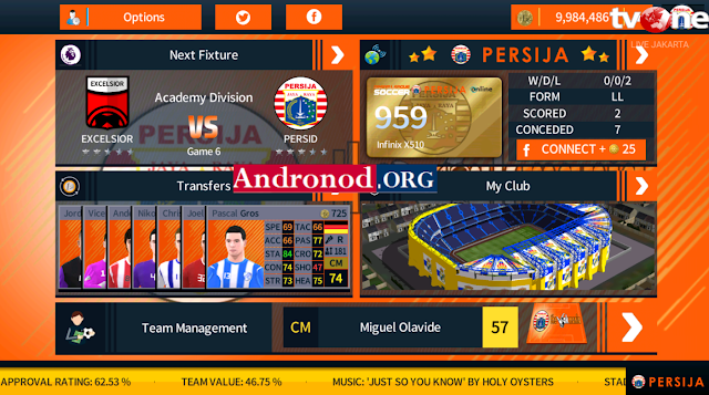 DLS 18 Mod Persija Jakarta (Unlimited Money) by Diptavir