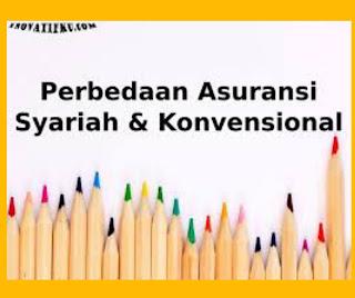 5+ Perbedaan dasar asuransi syariah dan asuransi konvensional