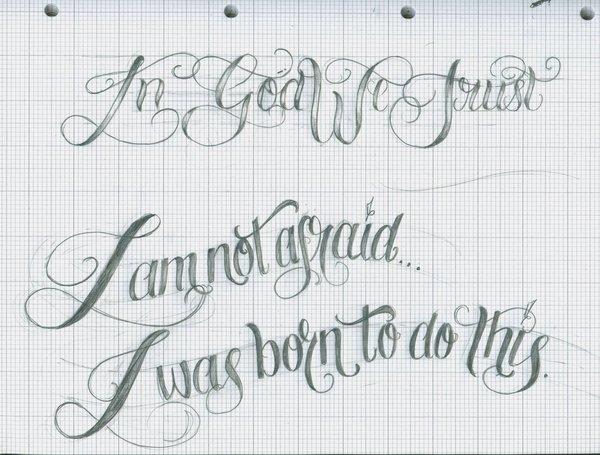 Script Fonts Italic Greek Tattoos Writing Font