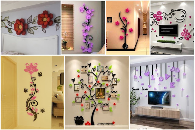 15 Room Wall Decoration Design Ideas That Captures Hearts