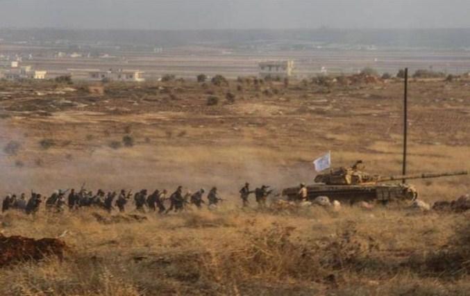 Kabar Serangan Pejuang Suriah Hama yang Tak Terbendung
