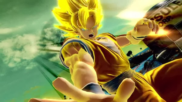 J-Stars Victory Vs, Shounen, Jump, Weekly Shounen Jump, Anime collaboration, games, PS3, Playable Characters, Screenshot, Goku, Super Saiyan, Saiyan