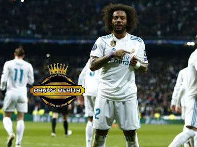 Marcelo Membuat Kemenangan Real Madrid Semakin Menjadi Usai Cetak Gol Di Menit 84
