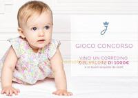 Logo Jacadi : gioca e vinci gratis corredino nascita e buoni acquisto