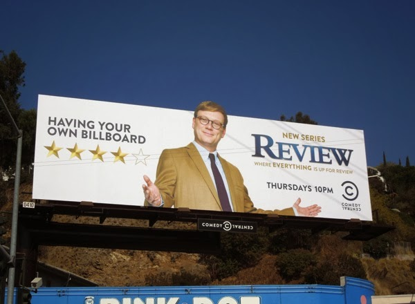 Review Comedy Central series premiere billboard
