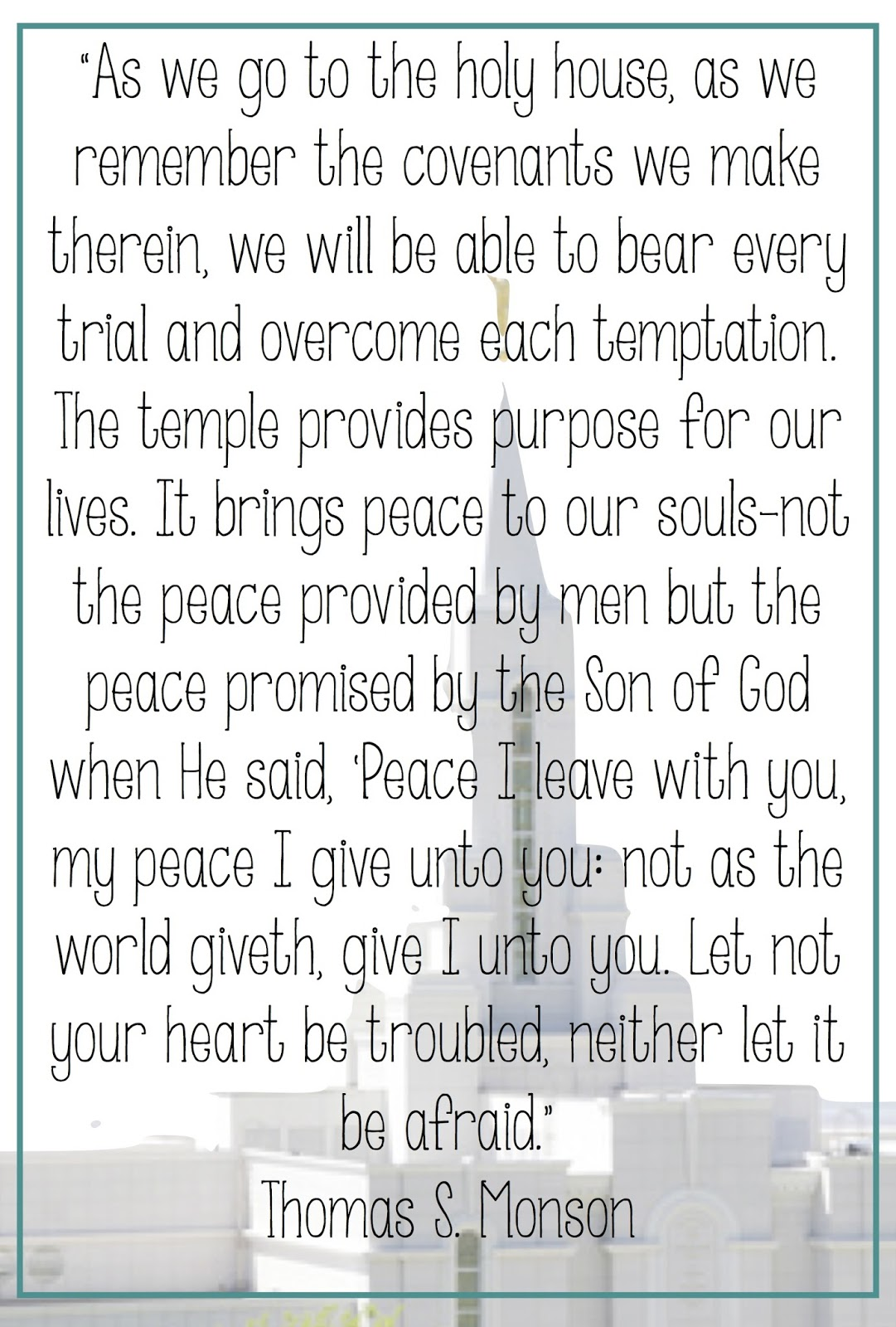 Lds Quotes Temple