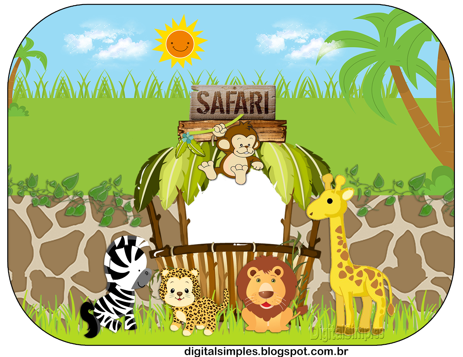 Safari Babies Free Printable Candy Bar Labels Oh My Baby
