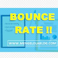 Bounce Rate Blog Saya Nilainya Tinggi ? Ternyata ini penyebabnya...