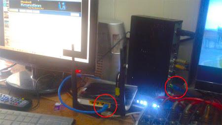 cara menyambungkan receiver parabola ke laptop