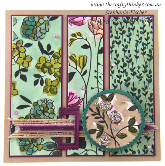 #thecraftythinker #stampinup #cardmaking #sharewhatyoulove , Share What You Love, No stamping cardmaking, Stampin' Up Australia Demonstrator, Stephanie Fischer, Sydney NSW