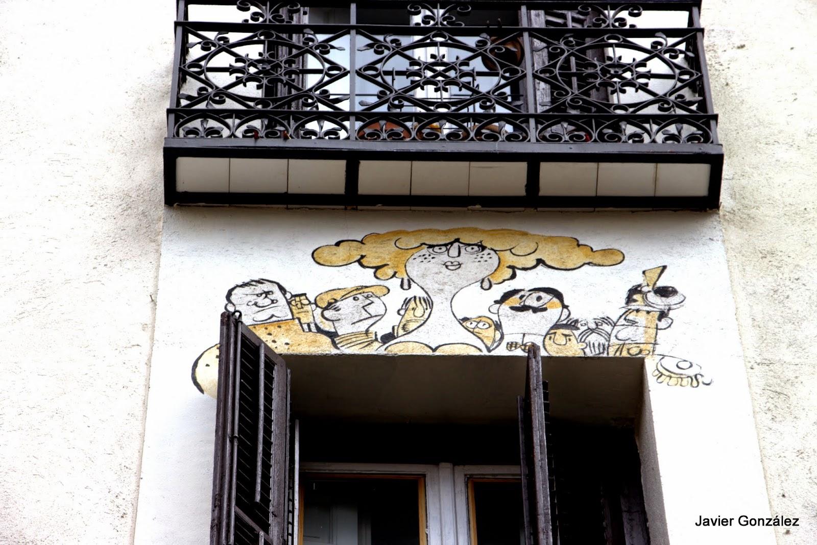 Antonio Mingote. Dibujos en una casa de Madrid