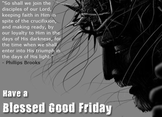 happy good friday sms
