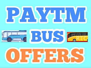 Paytm Bus Offers,Paytm cashback offerstoday