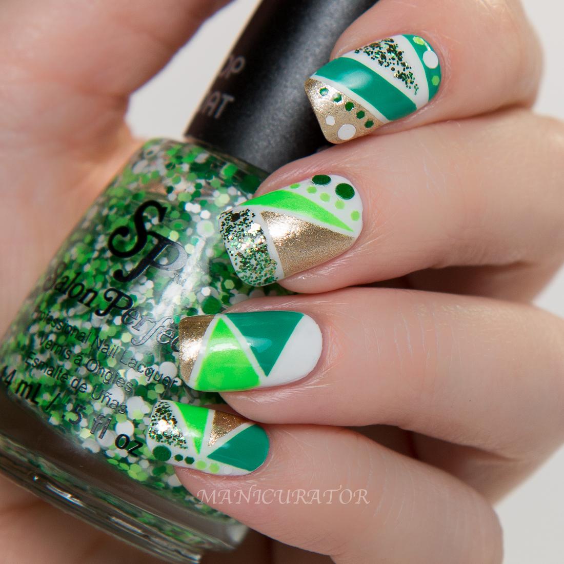 Salon Perfect St. Patrick's Day Nail Polish GIVEAWAY And