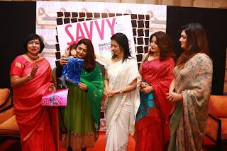 Actress Ramya Krishnan Stills in Saree at Savvy Magazine Launch  0020
