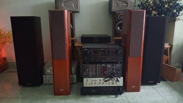 Ampli stereo  ampli 5.1 dts  receiver dàn mini các loại v.v...