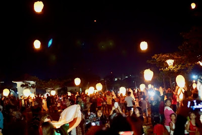 Flight of the Sky Lanterns Vigan, Hardin de Caridad