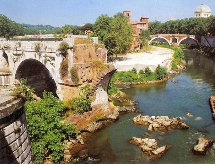5 posti segreti da non perdere a Roma: l'Isola Tiberina