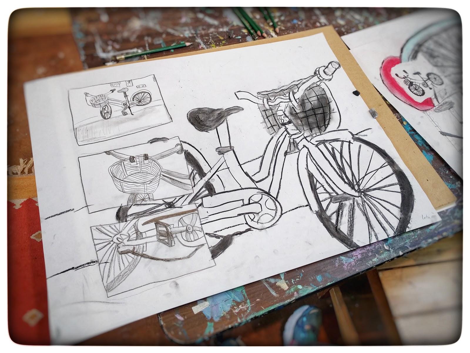 Different Types Of Lines In Art Drawing : Studio kids children s art classes in ballard seattle drawing