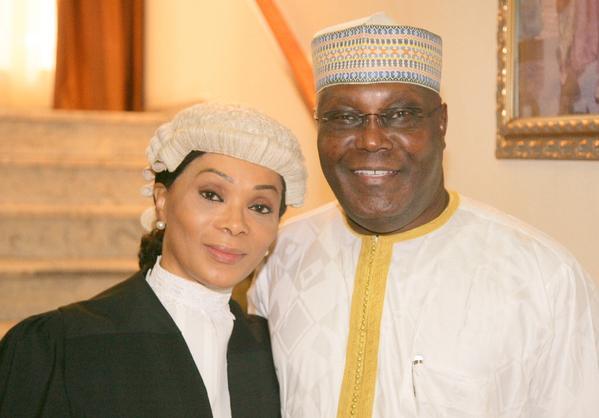 Vote For My Husband, Atiku's Wife Begs Her Fellow Igbos