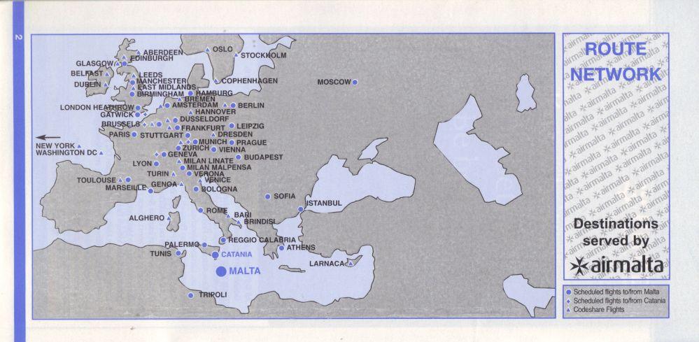 Airline memorabilia agosto 2011 en este mapa de rutas se sealan los destinos en cdigo compartido de forma mucho ms clara y tambin los vuelos desde catania donde la empresa tena una gumiabroncs Image collections