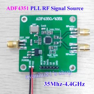 G4FRE RADIO BLOG: ADF4351 signal generator
