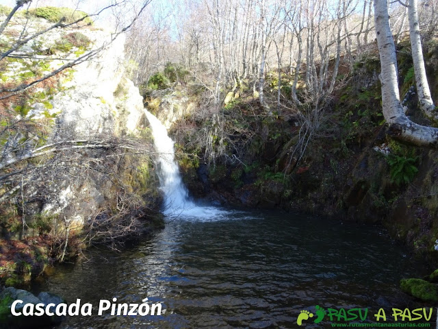 Cascada en el Río Pinzón