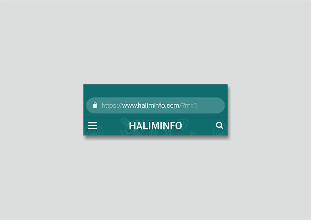 Cara Mudah Mengubah Warna Address Bar Browser Pada Tampilan Mobile