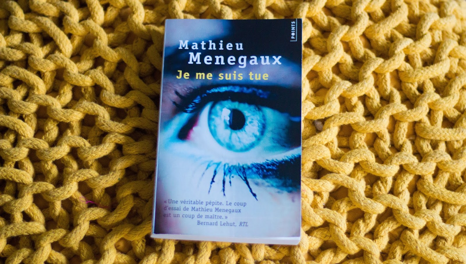 Je me suis tue de Mathieu Menegaux