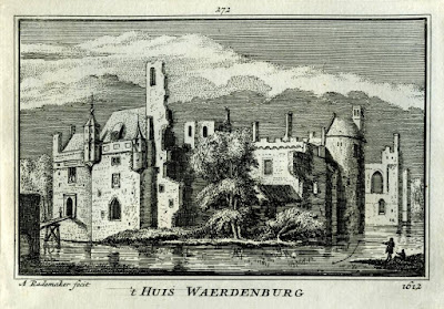 Kasteel Waardenburg in 1612