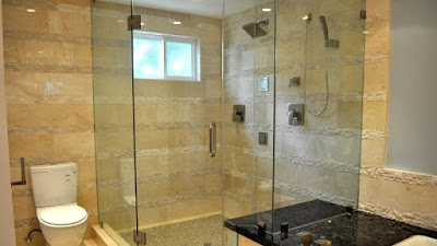 Frameless Swinging Shower Door