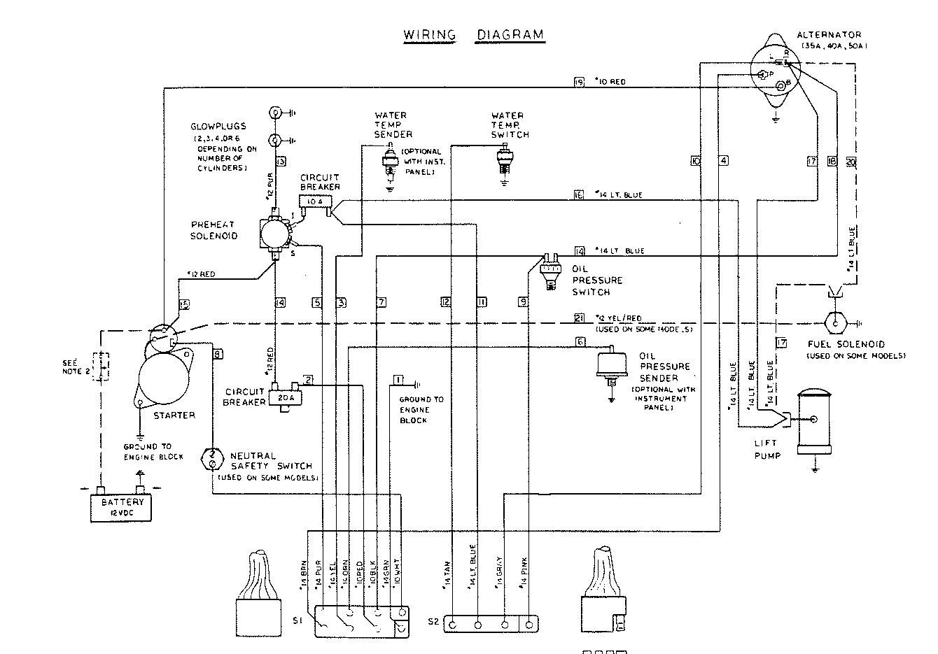 westerbeke wiring diagram