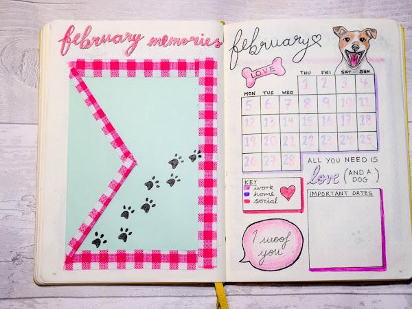 Bullet Journal | February Set Up