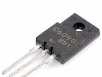 Tv Lg Transistor horisontal Q402 C6090/C6092/C6093 jebol terus