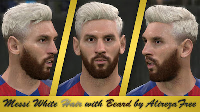 PES 2016 New Messi Hair Style By Alireza Free