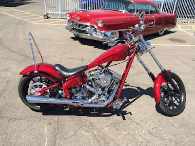 Big Dog K9 Red Chopper 111 Hd image