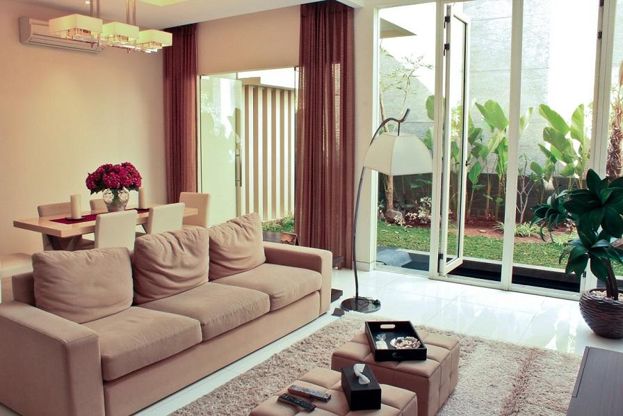 60 Model Ruang Tamu Terbuka Minimalis Modern ...