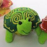 Patron gratis torguga amigurumi | Free amigurumi pattern turtle